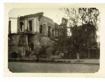 Міська Дума,зруйнована фашистами 1943р.