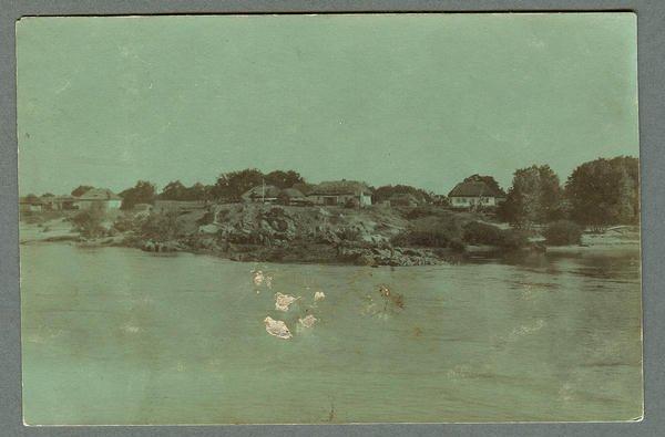 Вид берег Днепра в р-не Кременчуга