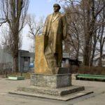Памятник Ленину возле проходной КВСЗ. В настоящее время демонтирован согласно закона о декоммунизации