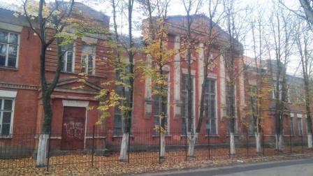 Здание бывшей церкви 35 Брянского пехотного полка