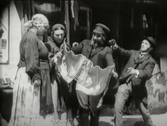 Съемки Еврейского счастья в Кременчуге