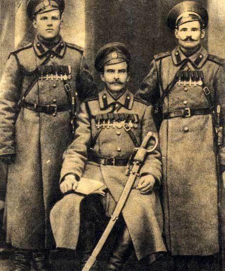 Пятикратный Георгиевский кавалер кременчужанин Аввакум Волков