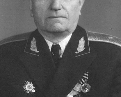 Генерал майор Степан Петрович Резниченко
