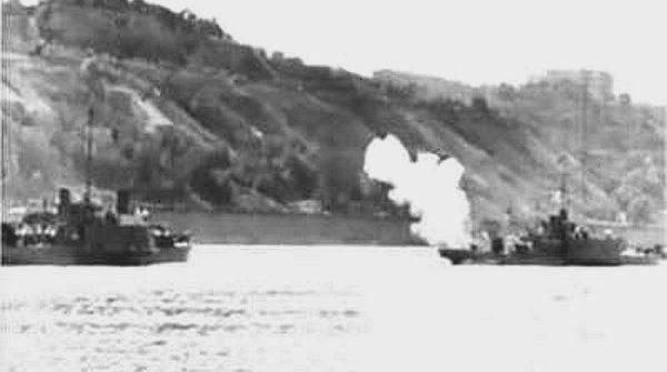 Действия Кременчугской группы кораблей ДВФ в августе 1941 года