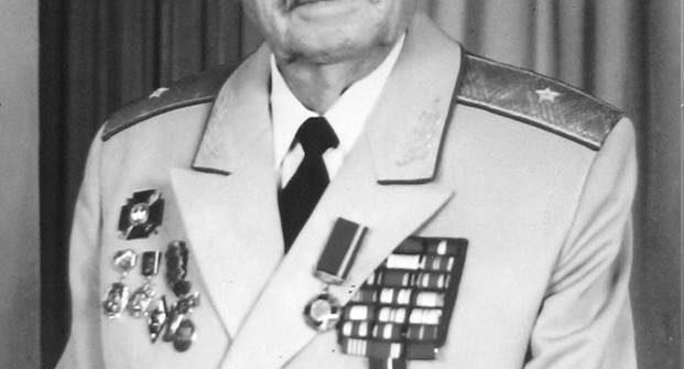Генерал-майор артиллерии А.М.Чайка