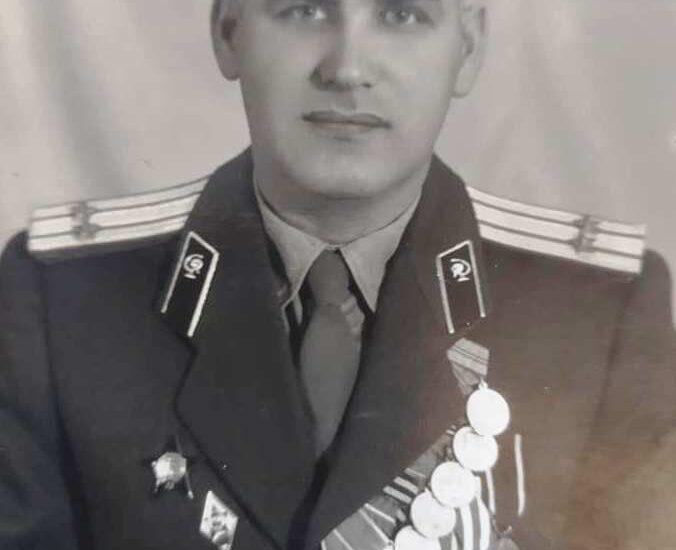 Заслуженный врач Украины полковник Скрынский